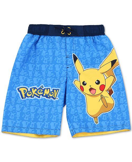 Dreamwave Little Boys Pokémon Swim Trunks