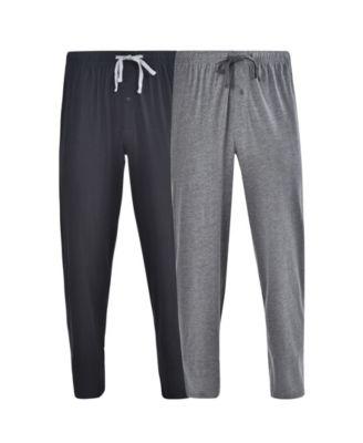 Hanes Mens Big-Tall Knit Sleep Short Pack of 2