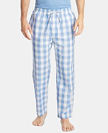 Men's Cotton Plaid Pajama Pants
