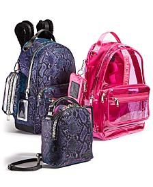 Steve Madden Back-to-School Blue and Pink Bag Collection
