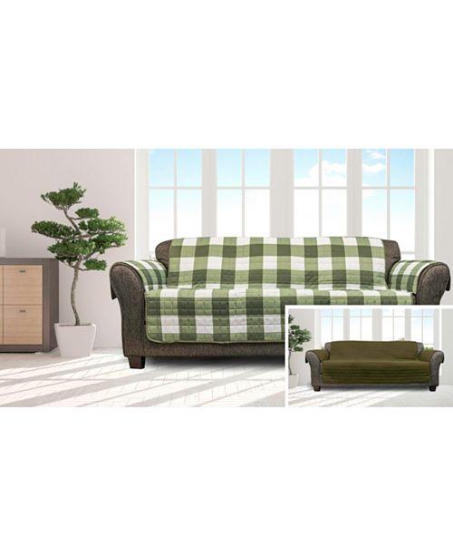 Duck River Textile Alba Reversible Waterproof Sofa Cover