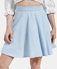 GUESS A-Line Mini Skirt