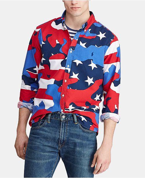 Polo Ralph Lauren Men's Americana Classic-Fit Oxford Shirt