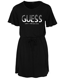 Big Girls T-Shirt Logo Dress