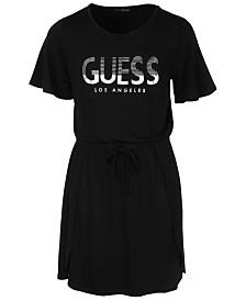 GUESS Big Girls T-Shirt Logo Dress