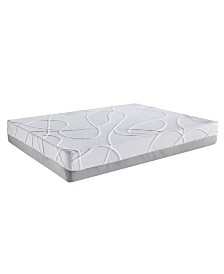 AC Pacific Green Tea and Bamboo Charcoal Infused Cal King Memory Foam Mattress
