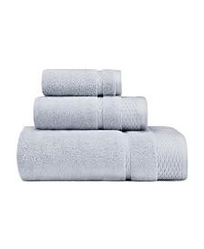 Laura Ashley Harmony Zero Twist 3-Pc. Towel Set