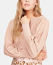 Billie Cropped Contrast T-Shirt