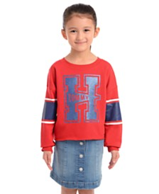 Tommy Hilfiger Big Girls Tommy-Print Sweatshirt