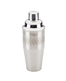 Ayesha Barware 4-in-1 Stainless Steel Cocktail Shaker with Juicer