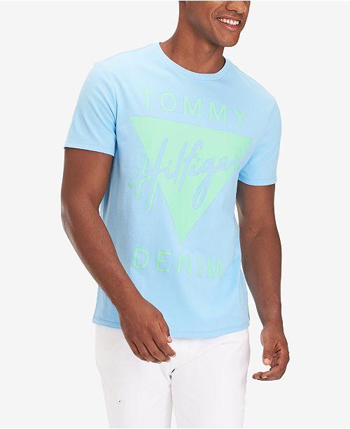 Tommy Hilfiger Men's Angola Logo Graphic T-Shirt