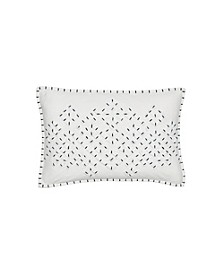 Appliqued Jersey 12 x 18 Decorative Pillow