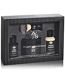 The 4-Pc. Full Size Unscented Shaving Set