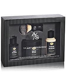 The Art of Shaving 4-Pc. Full Size Unscented Shaving Set