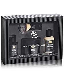 The Art of Shaving 4-Pc. Full Size Unscented Shaving Set