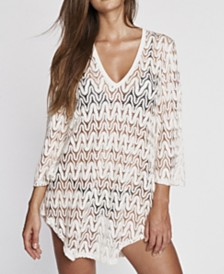 Jordan Taylor La Boheme Bell Sleeve Tunic Cover up