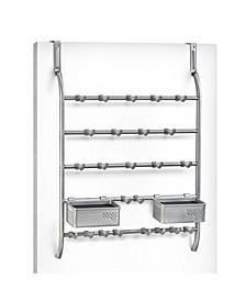 Jewelry Organizer Rack with Hooks