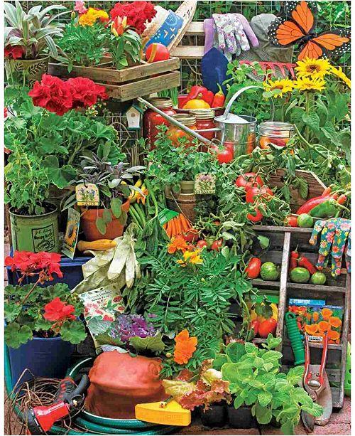 Springbok Puzzles Garden Delights 1000 Piece Jigsaw Puzzle
