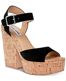 Women's Jess Cork Platform Sandals