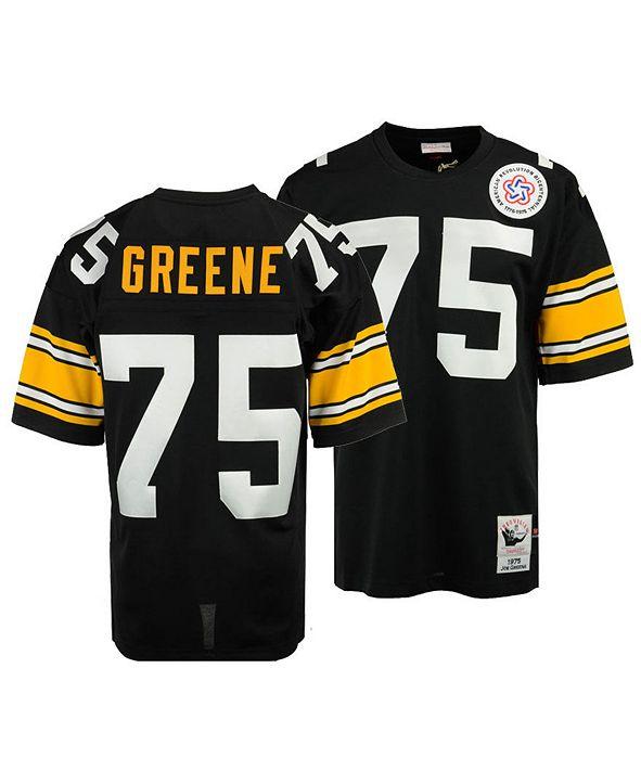 Mitchell & Ness Men's Joe Greene Pittsburgh Steelers Authentic Football Jersey