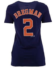 Majestic Women's Alex Bregman Houston Astros Player T-Shirt