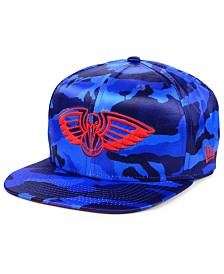 New Era New Orleans Pelicans Satin Camo 9FIFTY Cap