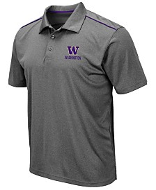Colosseum Men's Washington Huskies Eagle Polo
