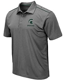 Colosseum Men's Michigan State Spartans Eagle Polo