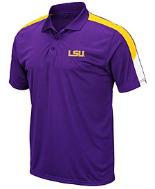Men's LSU Tigers Color Block Polo