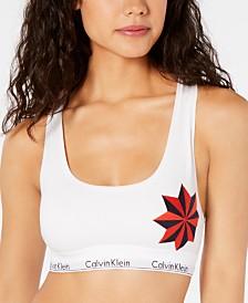 Calvin Klein Women's Graphic-Print Unlined Bralette QF5268