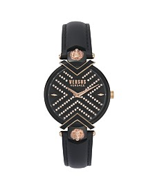 Versus Women's Black Strap Watch 16mm