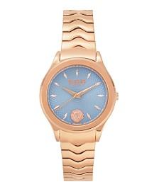 Versus Women's Rosegold Bracelet Watch 16mm
