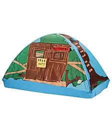 Pacific Play Tents Tree House Bed Tent - 77 In X 38 In X 35 In