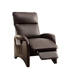 Modish Recliner with High Back And Side Pocket