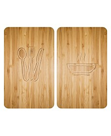 Wenko Universal Cover Plates Lunch, Set Of 2