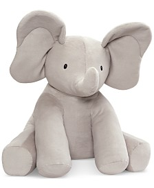 Gund® Baby Boys or Girls Jumbo Flappy Elephant Plush Toy