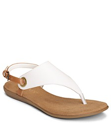 In Conchlusion T-Strap Thong Sandals