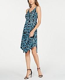INC Ikat Crisscross Ring Dress, Created for Macy's