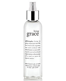 philosophy living grace body oil, 5.8 oz