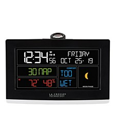 WiFi Projection Alarm Clock with AccuWeather forecast