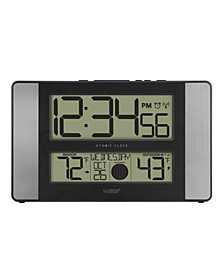 Atomic Digital Clock with Indoor and Outdoor Temperature