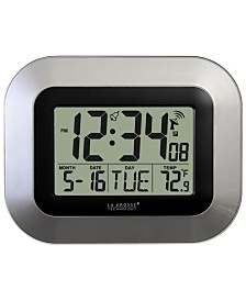 La Crosse Technology WWVB Digital Clock with Indoor temperature