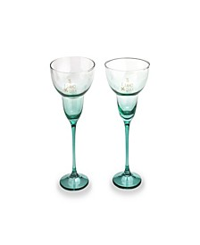 Te Quiero, Tequila Margarita Glass Set of two