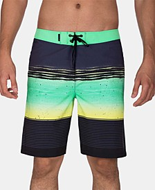 "Men's Phantom Printed 20"" Board Shorts"