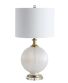 "Lucette 26.5"" Glass/Crystal LED Table Lamp"