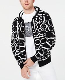 Michael Kors Men's Full-Zip Logo Hoodie