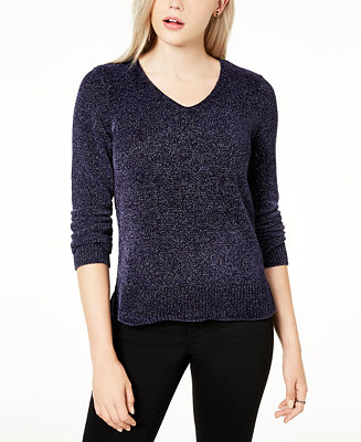 metallic-v-neck-sweater,-created-for-macys by general