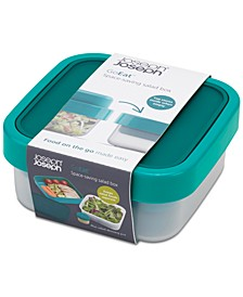 GoEat Compact 3-in-1 Salad Box