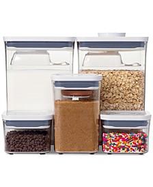 Pop Baking Ingredients 8-Pc. Storage Container Set