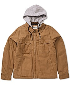 Men's Barlow Twill Hooded Jacket